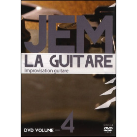 DVD JEM La guitare Volume 4 - Improvisation guitare