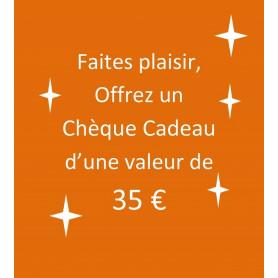 chèque-cadeau 35 €