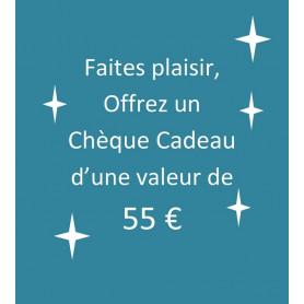 chèque-cadeau 55 €