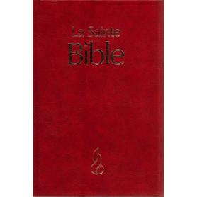 Bible NEG Gros Caractère Rigide Grenat