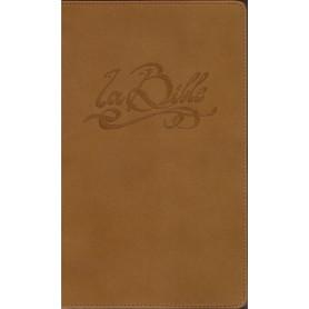 Bible Segond 21 Slim Cuir véritable brun