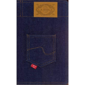 Bible Segond 21 Slim souple jeans fermeture éclair 13x21.3x1.8