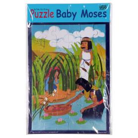 Puzzle Moïse en carton 36 pièces - 71206
