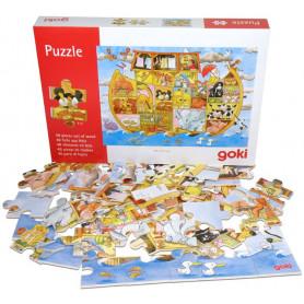 Puzzle en bois Arche de Noé 48 pièces - 71217