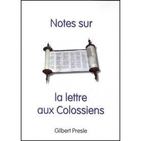 Notes sur la lettre aux Colossiens