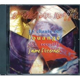 CD Comme un souffle - Chants de recueils