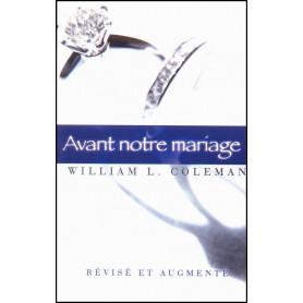 Avant notre mariage – révisé et augmenté