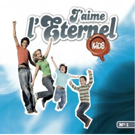 CD J'aime l'Eternel kids 1