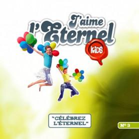 CD J'aime l'Eternel Kids 3