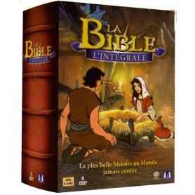 DVD La Bible l'intégrale – coffret 6 DVD - Dessins Animés