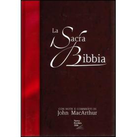 Sacra Bibbia Nuova Riveduta 2006 avec commentaires MacArthur - NR35419