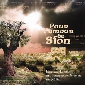 CD Pour l'amour de Sion – Corinne Lafitte et Jeunesse en Mission