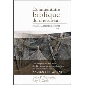 Commentaire biblique du chercheur Vol 1 Genèse à Deutéronome – Editions Impact