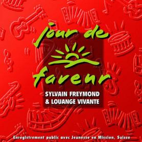 CD Jour de faveur - Sylvain Freymond & Louange Vivante