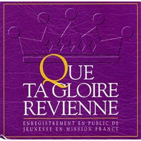 CD Que Ta Gloire revienne - Sylvain Freymond & Louange Vivante
