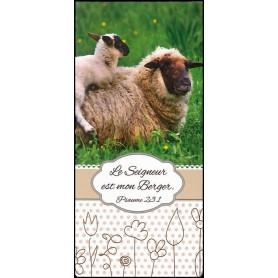Marque-page magnet Le Seigneur est mon berger