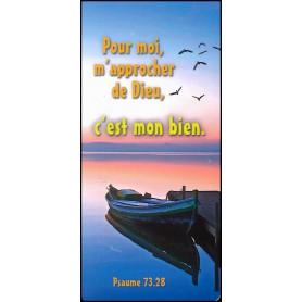 Marque-page magnet Pour moi m'approcher de Dieu c'est mon bien