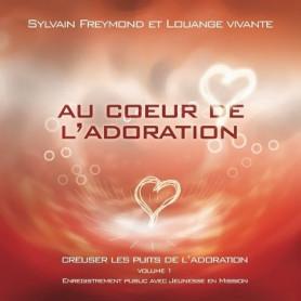 CD Au coeur de l'adoration - Louange Vivante