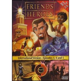 DVD Friends & Heroes – Episodes 3, 4 & 5 - Le Leviathan/Les héros perfides/Les véritables héros