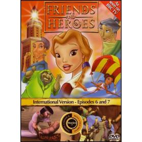 DVD Friends & Heroes – Episodes 6 & 7 – Liberté chérie /Perdue dans Alexandrie