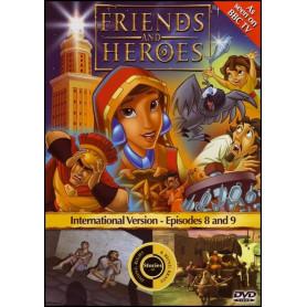 DVD Friends & Heroes – Episodes 8 & 9 – Le poisson manquant/Jouer son rôle