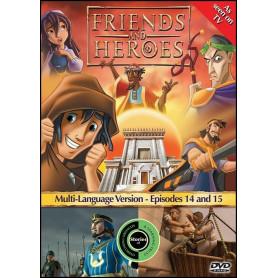 DVD Friends & Heroes – Episodes 14 & 15 – Un des nôtres/Par-delà les murs