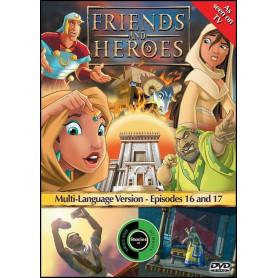 DVD Friends & Heroes – Episodes 16 & 17 - Le bélier/Sauvetage d'inconnus