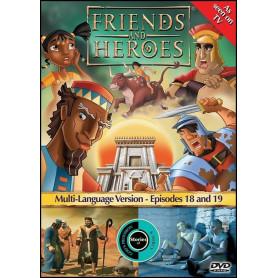 DVD Friends & Heroes – Episodes 18 & 19 – Prince pour un jour /Séjour forcé