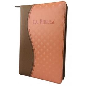 Bible Segond 21 Duo brun saumon compacte – SG12298