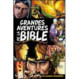 Grandes aventures de la Bible en bandes dessinées – Editions LLB
