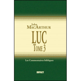 Luc Tome 3 – Commentaire MacArthur – Editions Impact