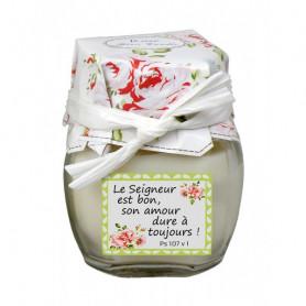 Bougie parfumée à la rose Psaume 107.1 – 73798