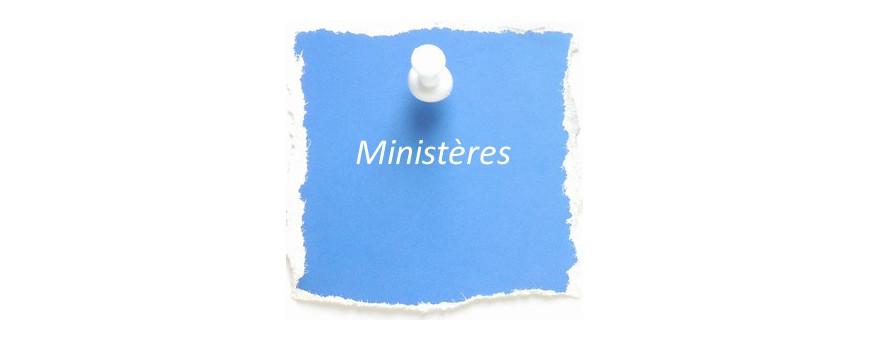 Livres sur les ministères dans l'Eglise