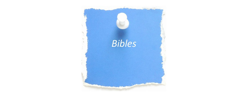Bibles pour les enfants de moins de 6 ans