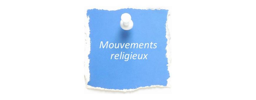livres de témoignages sur des expériences vécues dans divers mouvements religieux