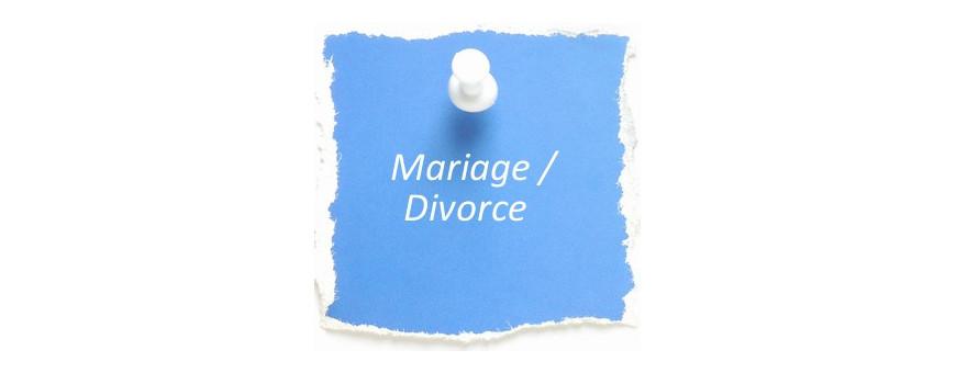 Ethique chrétienne sur le mariage et le divorce
