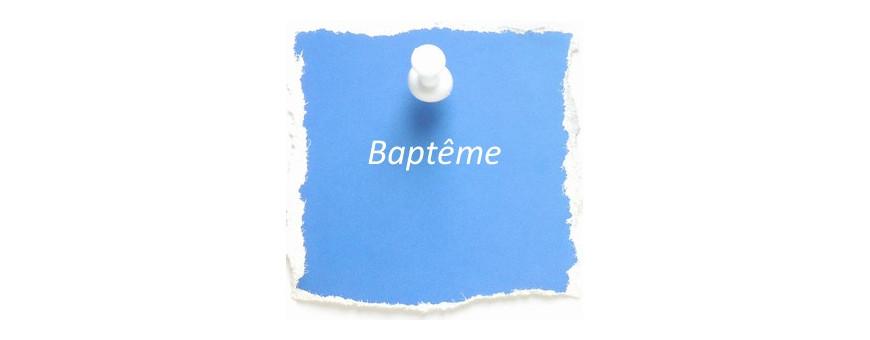 Livres sur le baptême
