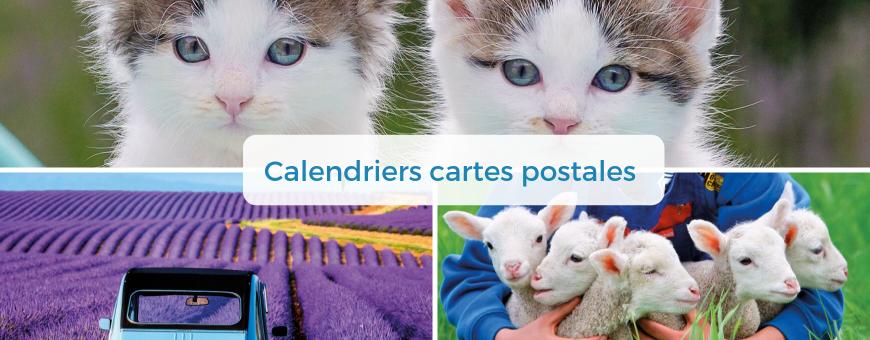 Calendriers Cartes Postales