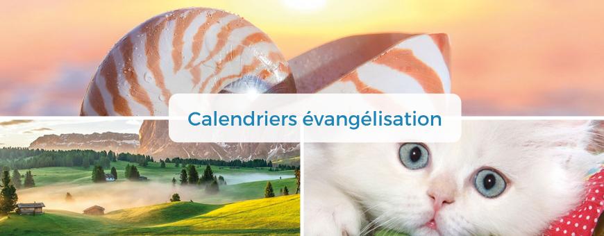 Calendriers pour l'évangélisation