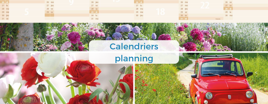 Calendriers planning
