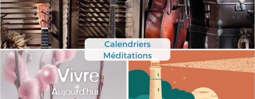Des calendriers bibliques avec méditations quotidiennes