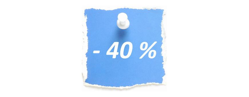 Soldes - 40 %