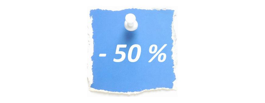 Soldes - 50 %