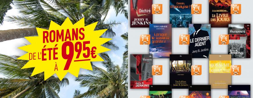 Les romans de l'été à 9.95 €